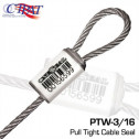 OneSeal - PTW 3/16 Pull Tight Cable Seal (100/box)